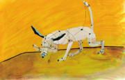 Pulling My Own Strings Print by Pat Saunders-White