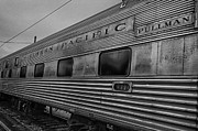 Train Yard Posters - Pullman Car Poster by Mike Burgquist