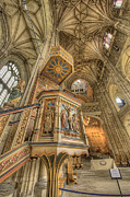 D700 Originals - Pulpit I Canterbury Cathedral Kent UK by Jack Torcello