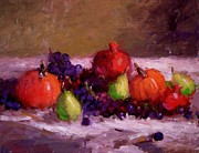 R W Goetting - Pumpkins grapes...