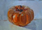 Pumpkin Alone Print by Donna Shortt