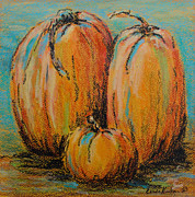 Linda Krukar Metal Prints - Pumpkin Family Metal Print by Linda Krukar