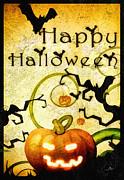 Pumpkin Print by Mo T
