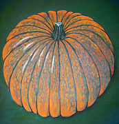 Halloween Pastels - Pumpkin by Nina Weller