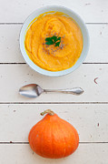 Organe Prints - Pumpkin Soup Print by Julien Balmer