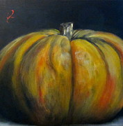 Dine Prints - Pumpkin Print by Timi Johnson