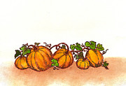 Nan Wright - Pumpkins