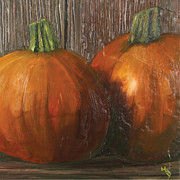 Matthew Young - Pumpkins on tile
