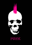 Viv Griffiths - Punk Skull