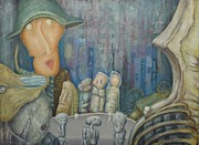 Puppet Theatre Print by Slobodan Loncarevic
