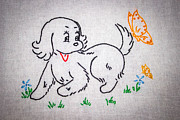 Puppy #3 Print by Chad Rowe