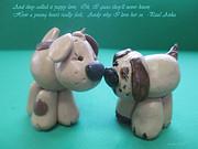 Puppy Love Print by Barbara Snyder