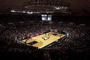 Basketball Posters Prints - Purdue Boilermakers Mackey Arena Print by Replay Photos
