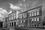 Boiler Photo Prints - Purdue University Pfendler Hall Print by University Icons