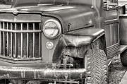 Jeep Prints - Pure American Print by JC Findley