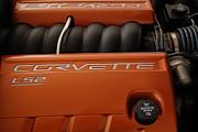 Pure American Racing - Corvette Engine The Ls-2  Print by Steven Milner
