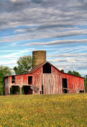 Old Barns Metal Prints - Pure Country II Metal Print by JC Findley