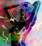Hold Digital Art Posters - Pure female Energy Poster by Stefan Kuhn