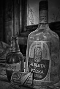Vodka Framed Prints - Pure Vodka  Framed Print by Jerry Cordeiro