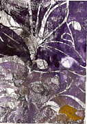 Plants Reliefs Metal Prints - Purity is Passion Metal Print by Claudia Smaletz