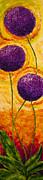 Purple Allium Flowers Print by Paris Wyatt Llanso