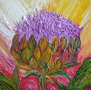 Paris Wyatt Llanso - Purple Artichoke Blossom