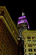 Empire Photo Originals - Purple Beacon by Michael Dorn