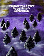 Sandy Wager - Purple Christmas