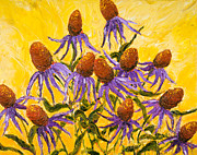Paris Wyatt Llanso - Purple Cone Flowers