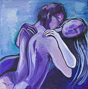 May Ling Yong - Purple Embrace