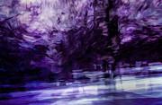 Purple Fire Print by Scott Norris