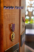 Commendation Posters - Purple Heart Poster by Douglas Barnard