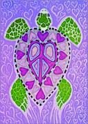Nick Gustafson - Purple Heart Turtle
