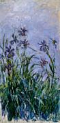 Claude Monet - Purple Irises