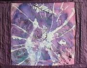 Purple Leaves Print by Nora Padar