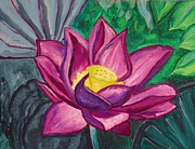 Faye Silliman - Purple Lotus