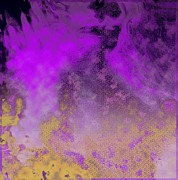 _artkansas Mixed Media - Purple mist by Yanni Theodorou