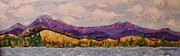Front Range Painting Prints - Purple Mountain Majesty Print by Margaret Bobb