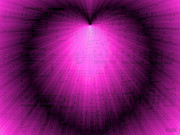 Music Lovers - Purple Music Love by Hanza Turgul