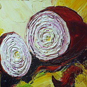 Lancaster Artist Metal Prints - Purple Onion Metal Print by Paris Wyatt Llanso