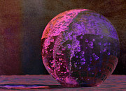 Orb Photos - Purple Orb by Fraida Gutovich