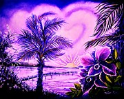 Yolanda Rodriguez - Purple Palm