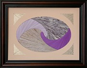 Artisan Made Framed Prints - Purple Passion Framed Print by Ron Davidson