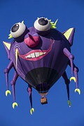 Ballooning Posters - Purple people eater Poster by Garry Gay