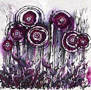 Nadine Rippelmeyer - Purple Poppies