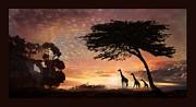 Melinda Hughes-Berland - Purple Safari Sunset
