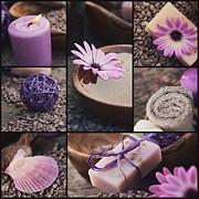 Mythja  Photography - Purple spa collage
