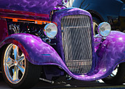 Street Rod Art - Purple Street Rod by Mark Spearman
