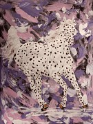 Western Drawings - Purple temtation Appy by Lucka SR