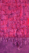 Modern Art - Purple Wall by Julia Fine Art